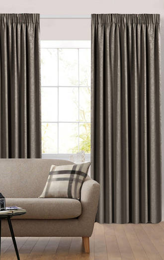 Florentine Pencil Pleat Curtains