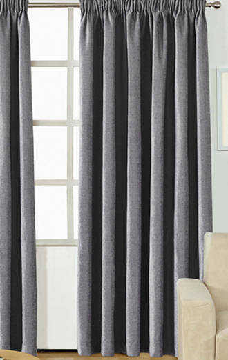 Luxe Pencil Pleat Curtains