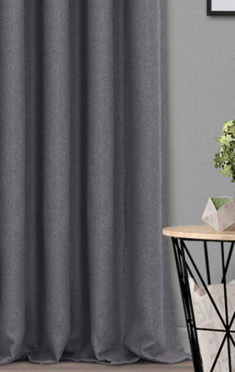 Fusion Textures Dusk Pencil Pleat Curtains