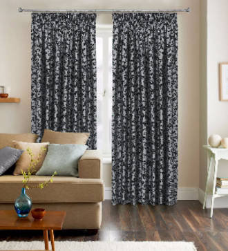 Figaro Pencil Pleat Curtains